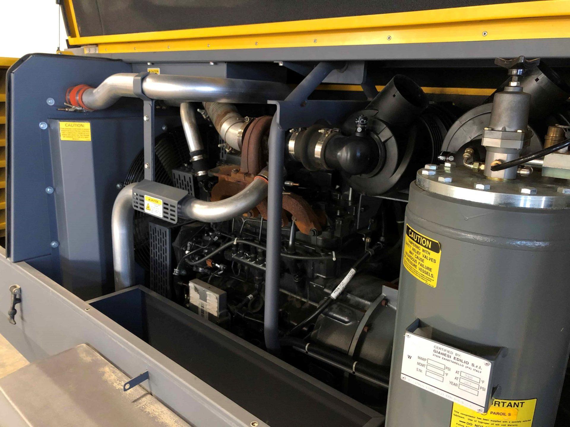 High CFM Air Compressor
