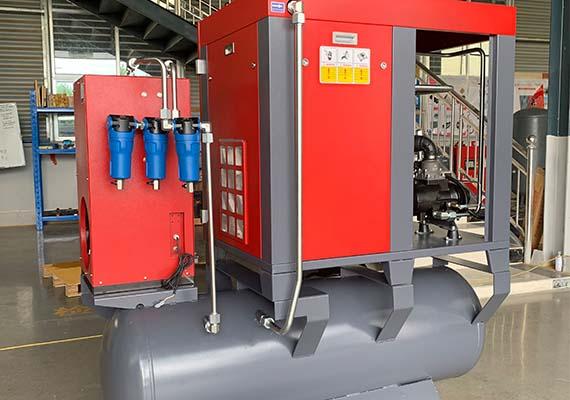 laser cutting air compressor