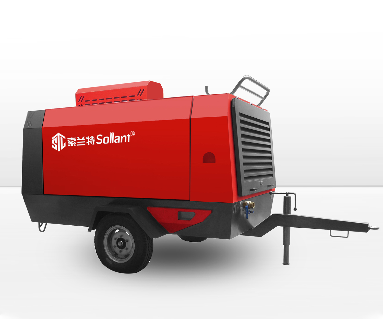 towable air compressor